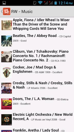 Readerware Music