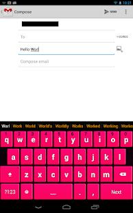 Pink Keyboard - screenshot thumbnail