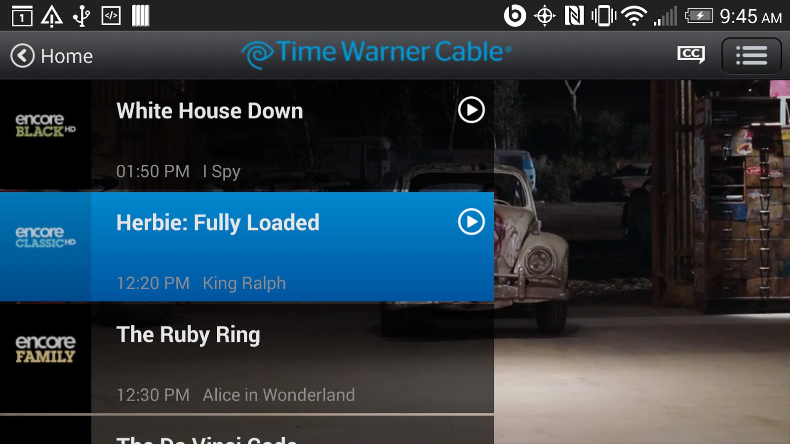 TWC TV® - screenshot