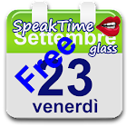 SpeakTime glass widget free icon