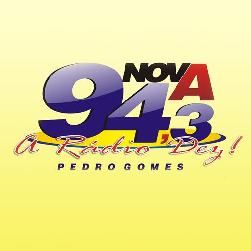 Nova FM 94,3 Pedro Gomes LOGO-APP點子