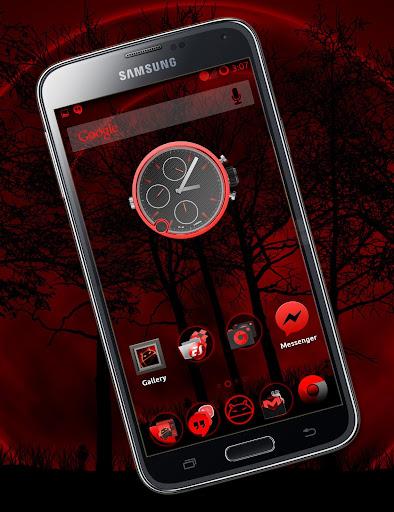 BloodRed CM11 CM12 Theme