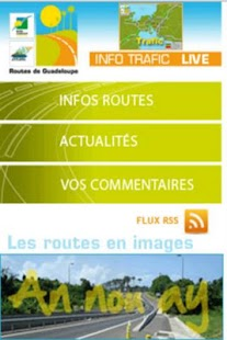 Trafic routier Guadeloupe- screenshot thumbnail