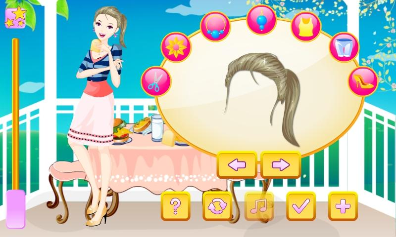 Spring Morning Dress Up - screenshot