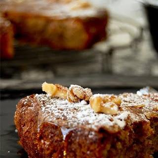 Walnut Cake }