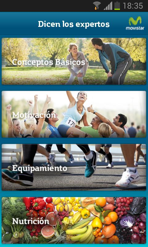 Movistar Running - screenshot