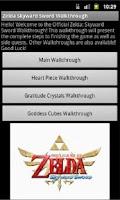 Screenshot of Zelda: Skyward Sword GUIDE