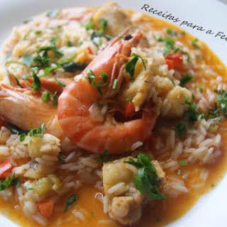 Monkfish Rice.