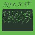 retro font Free icon