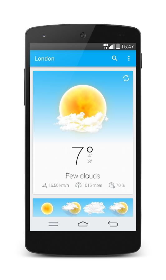 Weather Animated Widgets- screenshot