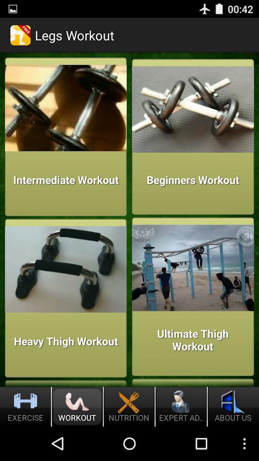 Men's Legs Workout - screenshot