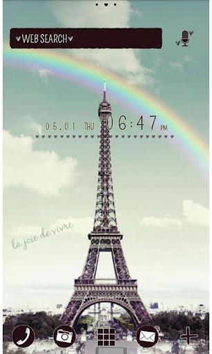 Rainbow Eiffel for[+]HOMEきせかえ