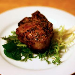Savory Mint Lamb Chops