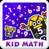 Bé học toán