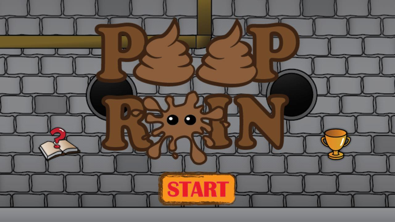 Poop Rain Free- screenshot