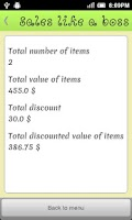 Screenshot of Sales like a boss