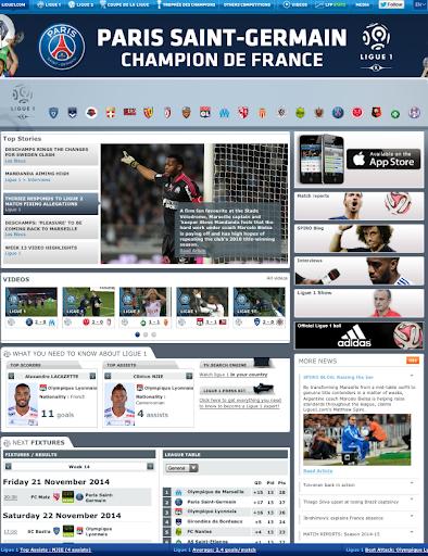 Liga Ligue1 UK BUNDESLIGA