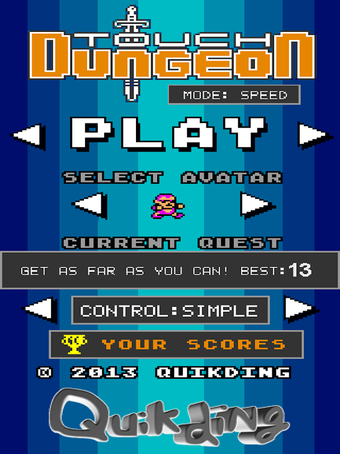 Touch Dungeon- screenshot
