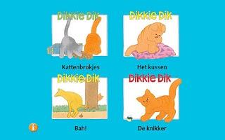 Screenshot of Dikkie Dik voorleesverhalen