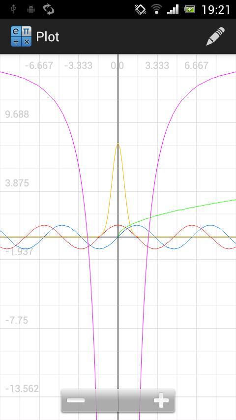 CalcPro- screenshot