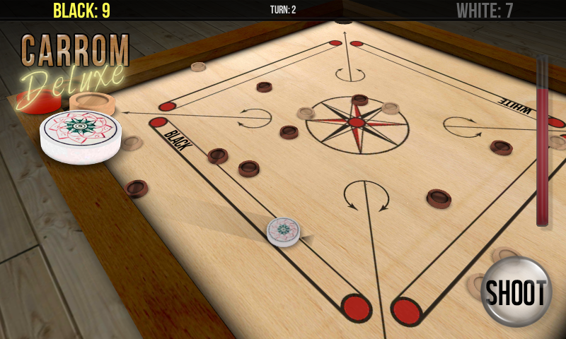 Carrom Deluxe- screenshot