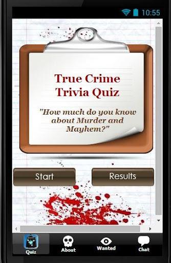 True Crime Trivia Quiz