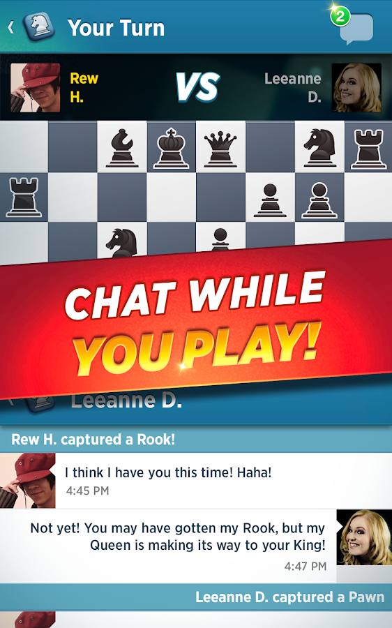 Chess With Friends Free- screenshot