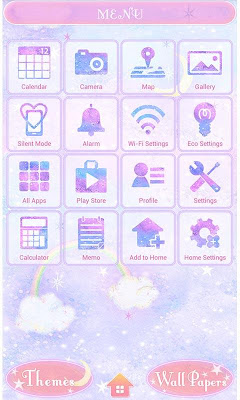 Pasitel Theme-Cloudy Night- - screenshot