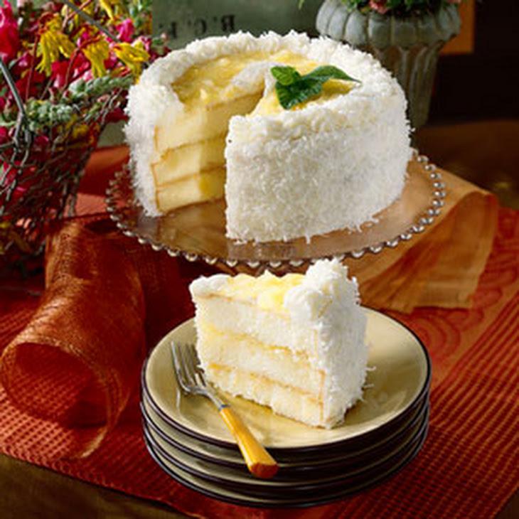 Nanny'S Famous Coconut-Pineapple Cake Recipe