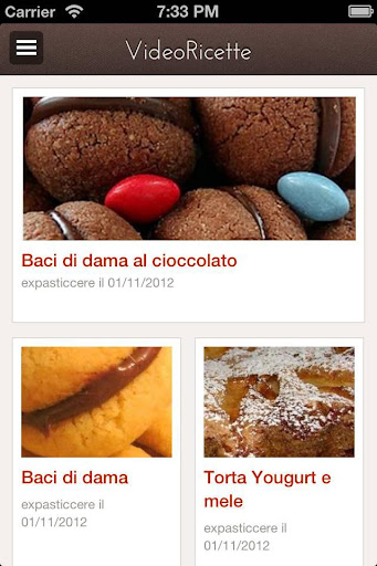 Video about Italian Desserts
