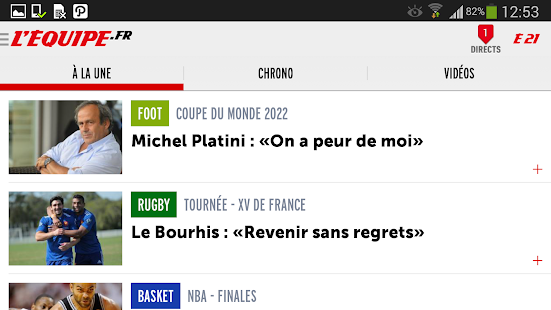 L'Equipe.fr : foot, rugby Screenshot 6