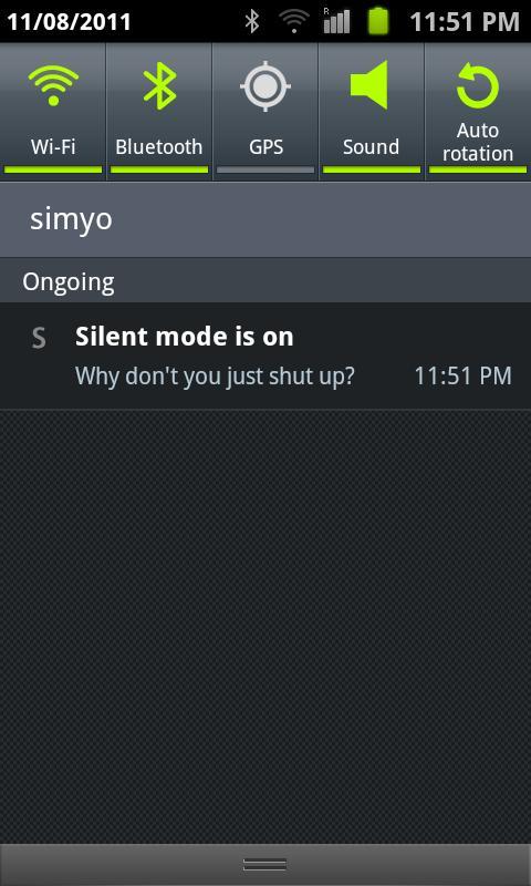 Why don't you just shut up? - screenshot