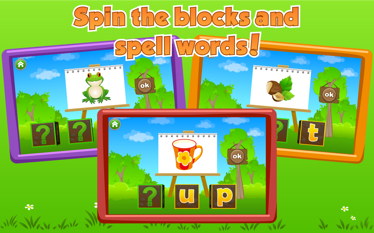 Kids Learn to Read - screenshot