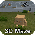 Boxy and the 3D Maze Labrinth