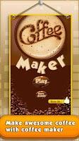 Screenshot of Coffee Maker