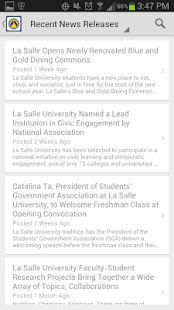 La Salle University - screenshot thumbnail