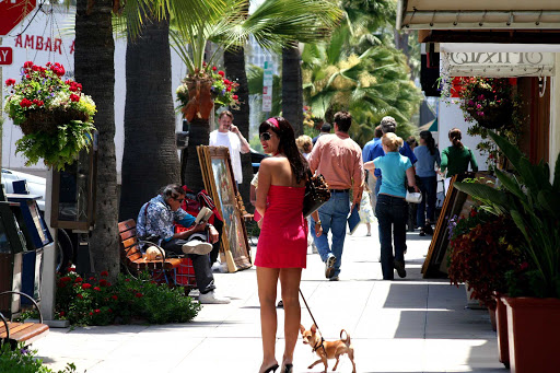 La Jolla, near San Diego, offers a variety of upscale shops.