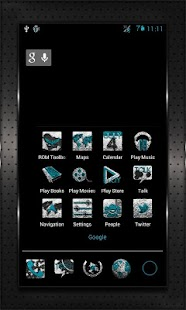 INKED CM10 AOKP Theme Chooser- screenshot thumbnail