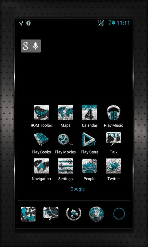 INKED CM10 AOKP Theme Chooser - screenshot