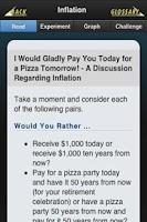 Screenshot of Econ Ed Mobile