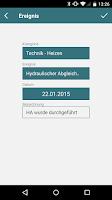 Screenshot of EnergieCheck co2online