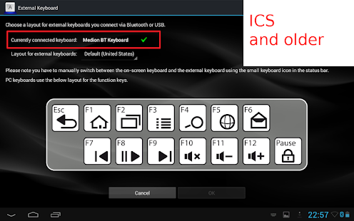 External Keyboard- screenshot thumbnail