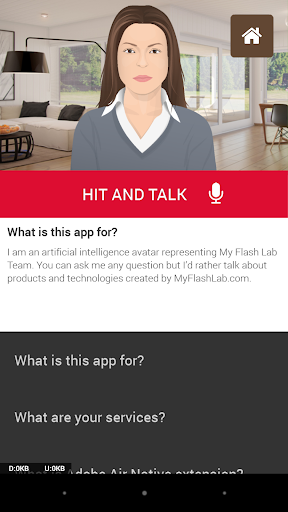 showcase Talking avatar