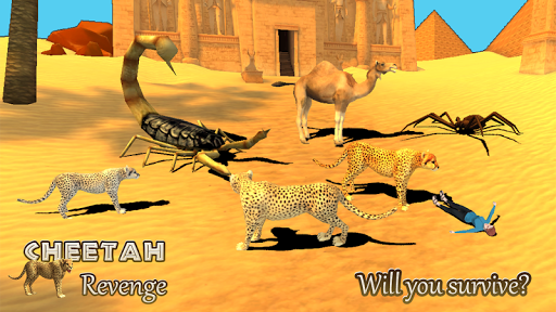 Cheetah Revenge Simulator 3D