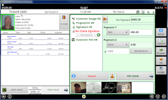 Screenshot of Weigh & Pay Recycling Software