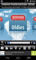 Screenshot of Antenne Niedersachsen