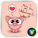 Cartoon Pig Live Wallpaper icon