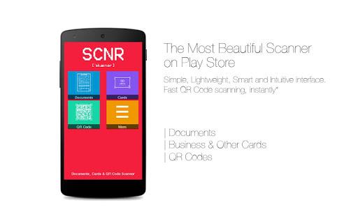 SCNR - Doc Cards QR Scanner