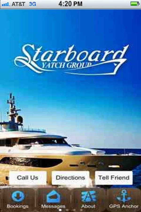 Starboard Yacht Group- screenshot