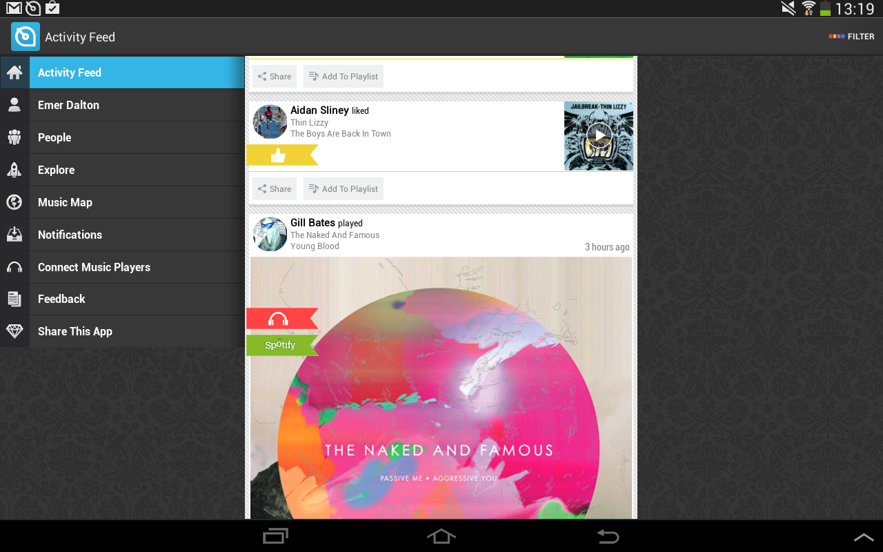 Soundwave - Find New Music - screenshot